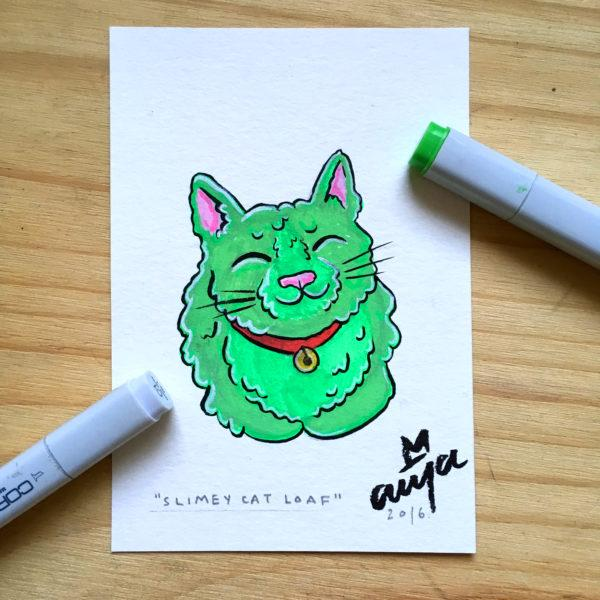 13 slimey cat 2 pic